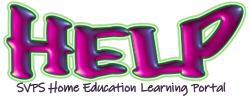 SVPS Home Education Learning Portal